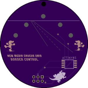 BadgeCulture design for NMC 2019 Symposium